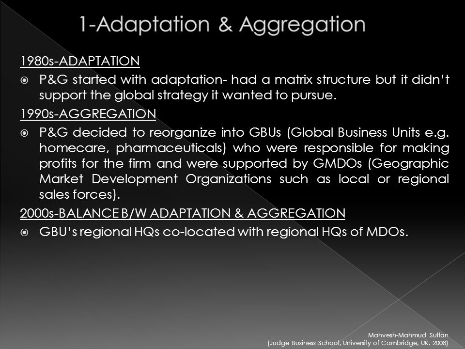 adaptation aggregation and arbitrage Arbitrage aggregation,adaption - download as powerpoint presentation (ppt / pptx), pdf file (pdf), text file (txt) or view presentation slides online arbitrage.