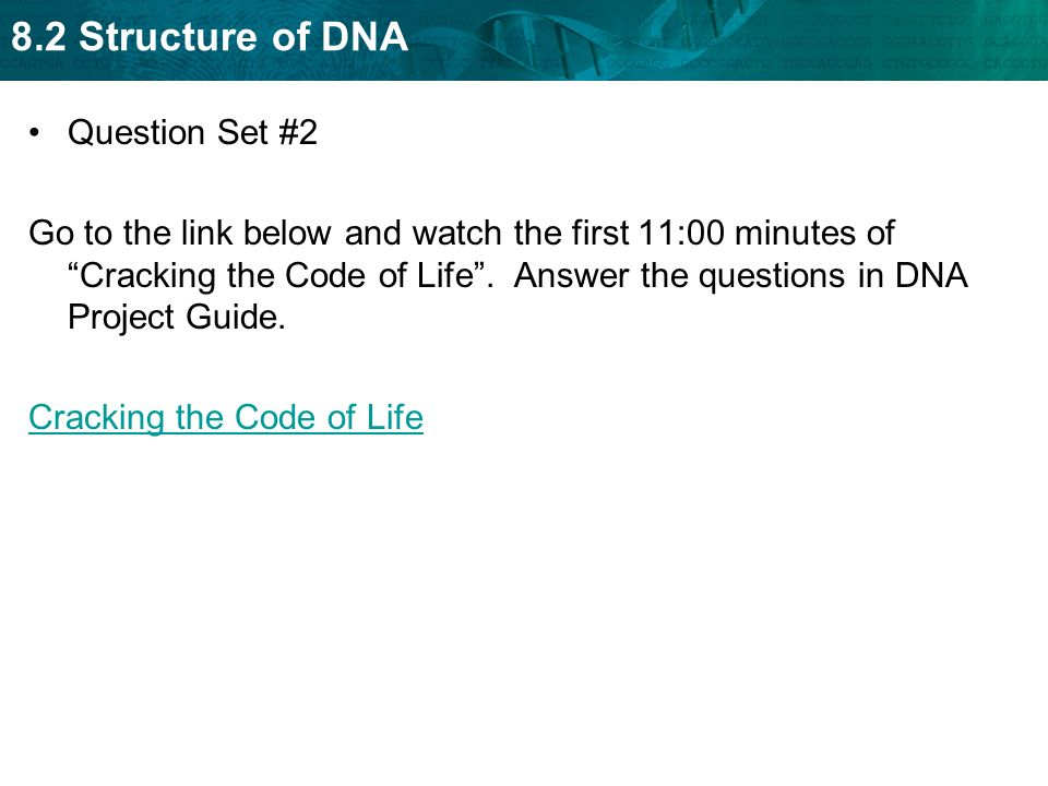 Dna Cracking The Code Of Life Worksheet Answers The Best and – Nova Cracking the Code of Life Worksheet
