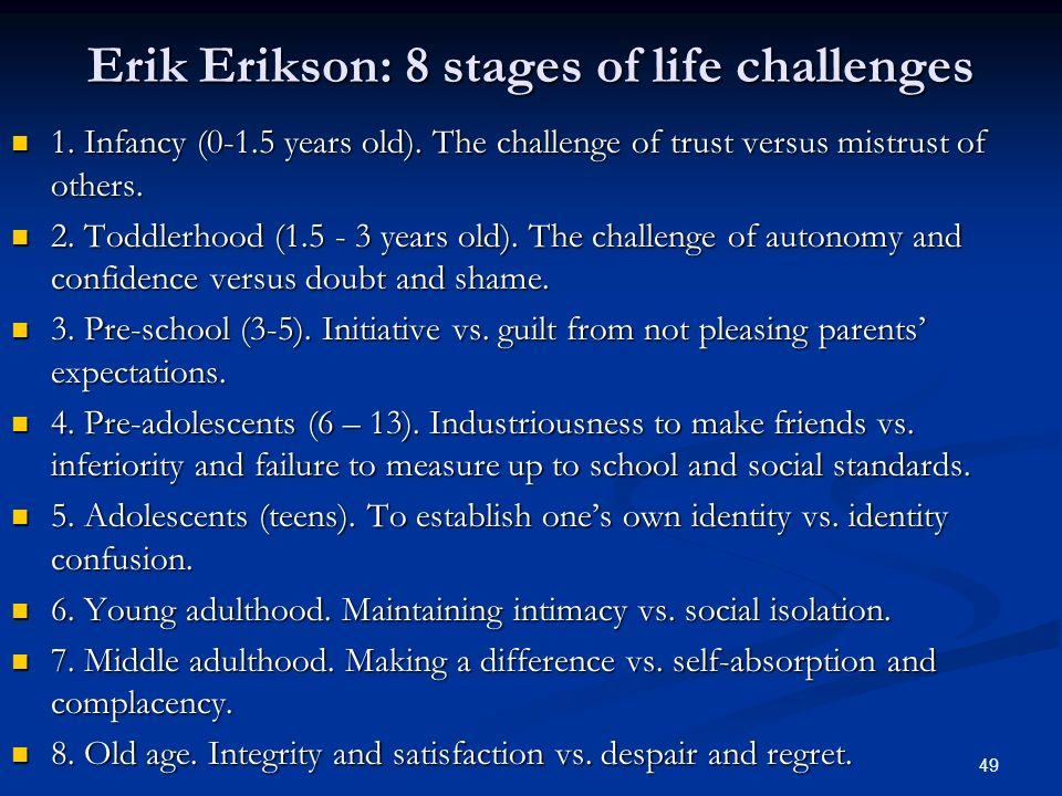erik erikson and the socialization of individuals What is erik h erikson's view on socialization  \nstatus refers to the social prestige accorded to individuals according  erik erikson's theory in the field.