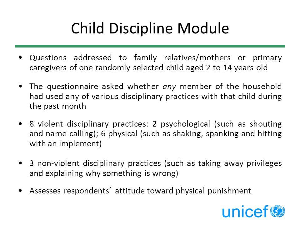 Child Discipline Module