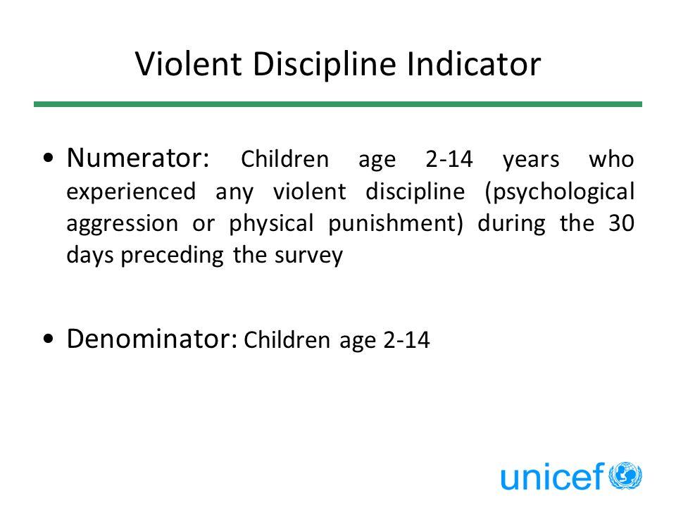 Violent Discipline Indicator