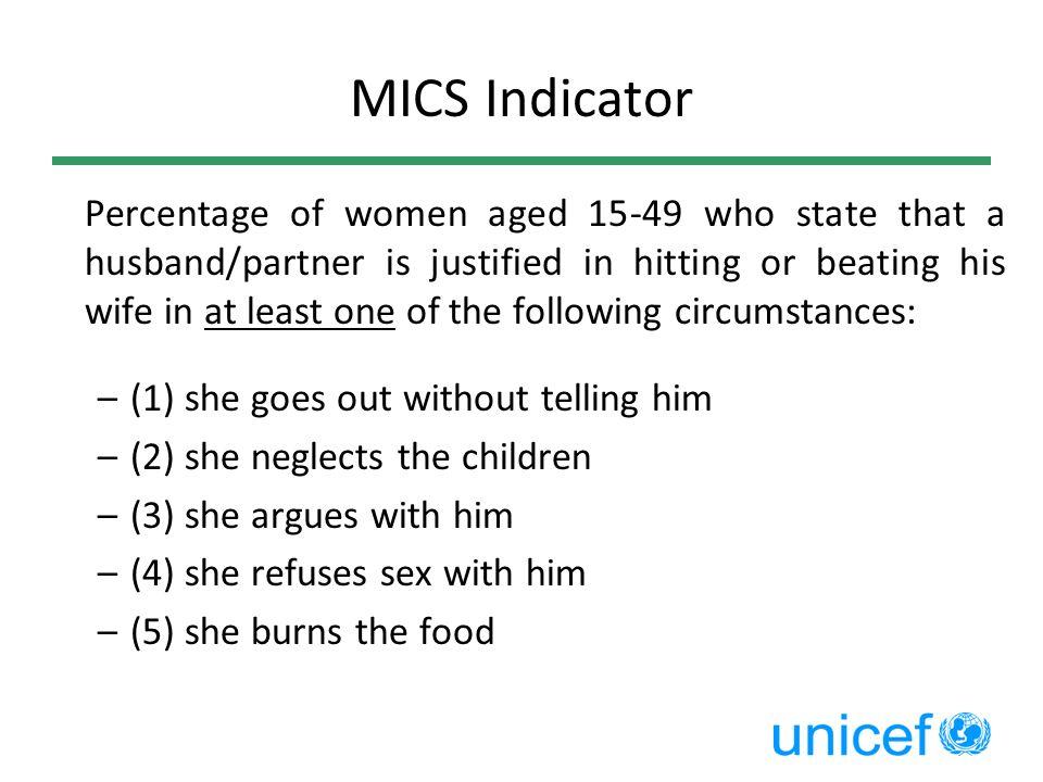 MICS Indicator
