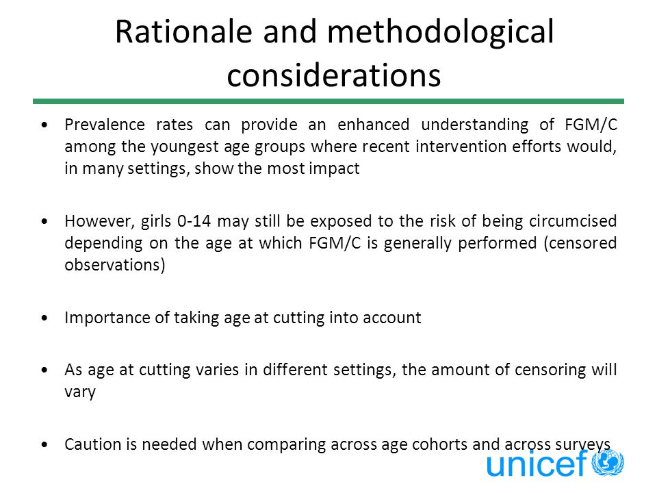 Rationale and methodological considerations