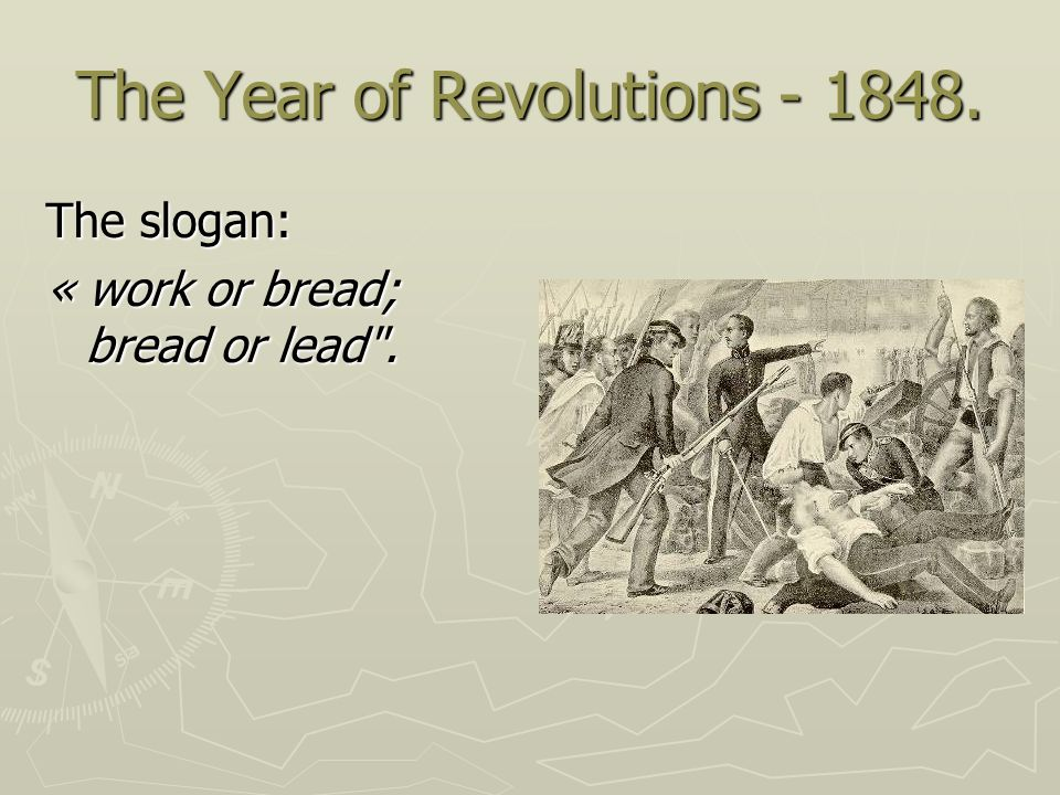 The Year of Revolutions - 1848.