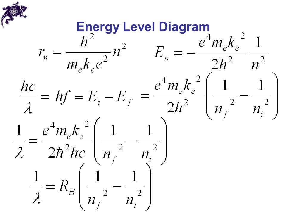 how to find what level corresponds to 0 energy jump