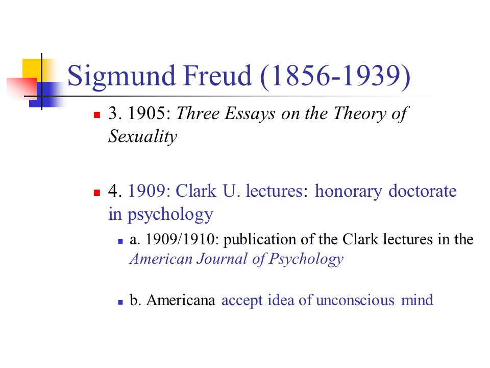 essay on freud psychoanalysis