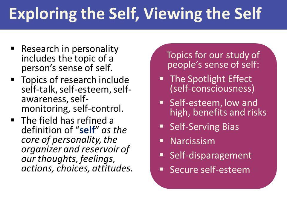 exploring self