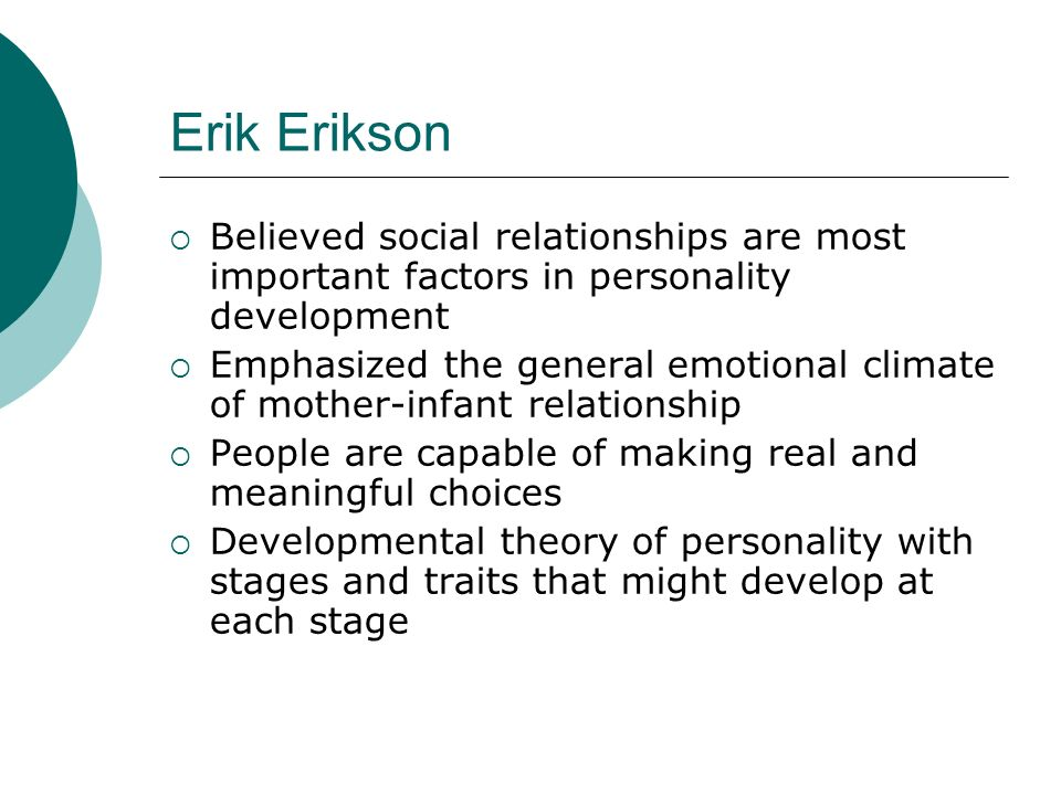 relationship of socialization and personality