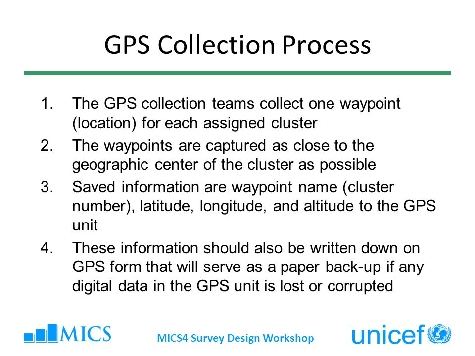 GPS Collection Process