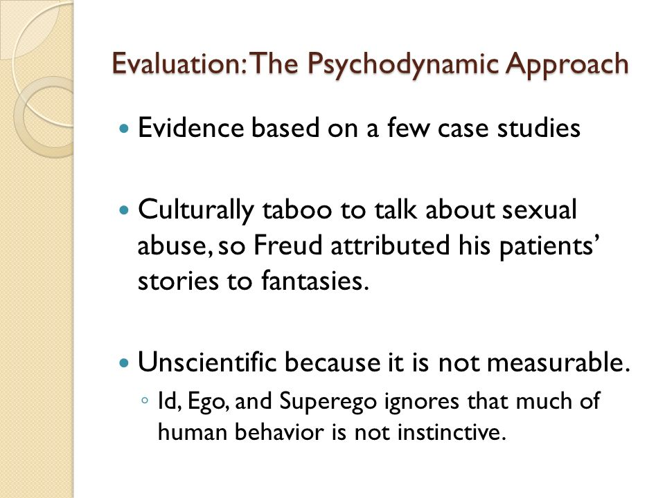 essay on psychodynamic approach View and download psychodynamic approach essays examples also discover topics, titles, outlines, thesis statements, and conclusions for your psychodynamic approach essay.