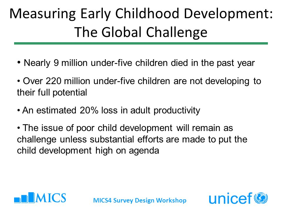 Measuring Early Childhood Development: The Global Challenge