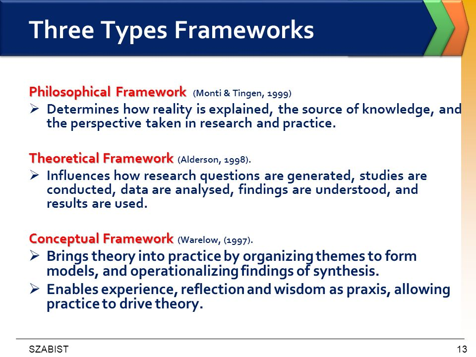theoretical frameworks This example shows what needs to be included in the theoretical framework of your thesis.