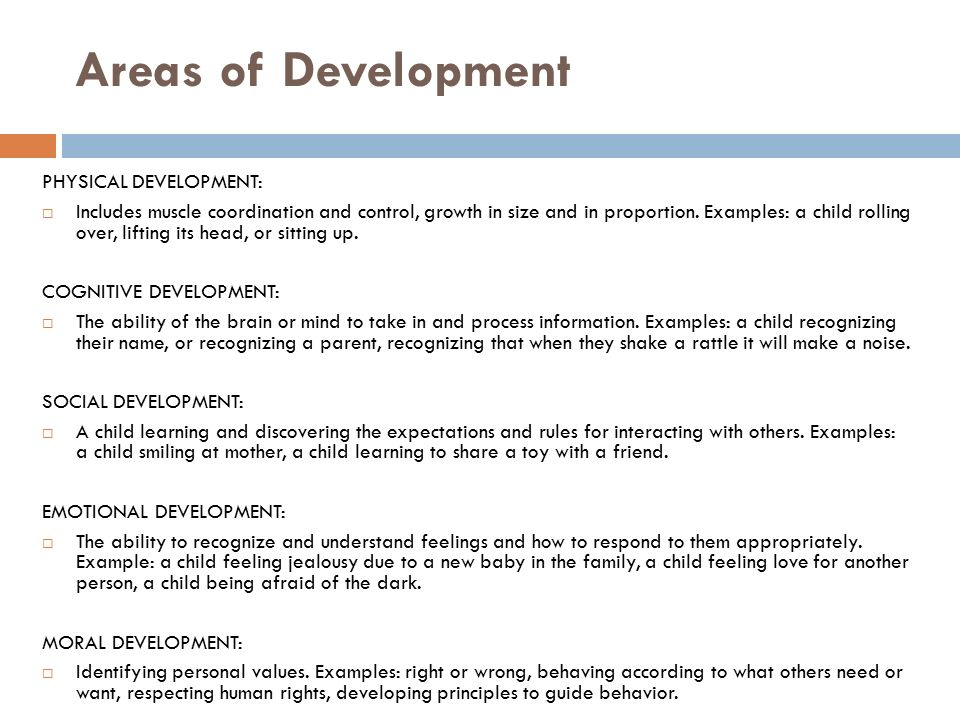 child each area of development fro Title: presentation notes for four area of development preschool to school-age author: statewide instructional resources development center subject.