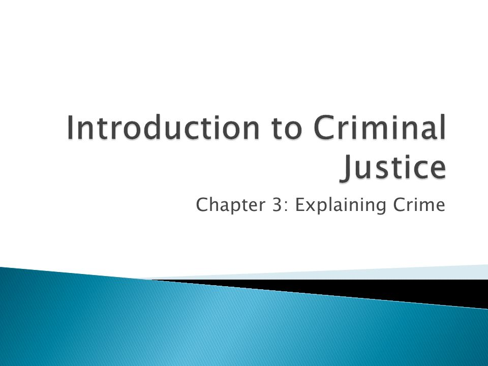 intro to criminal justice project For forty years, the aba criminal justice standards have guided  in 1968, chief  justice warren burger described the standards project as the single most.