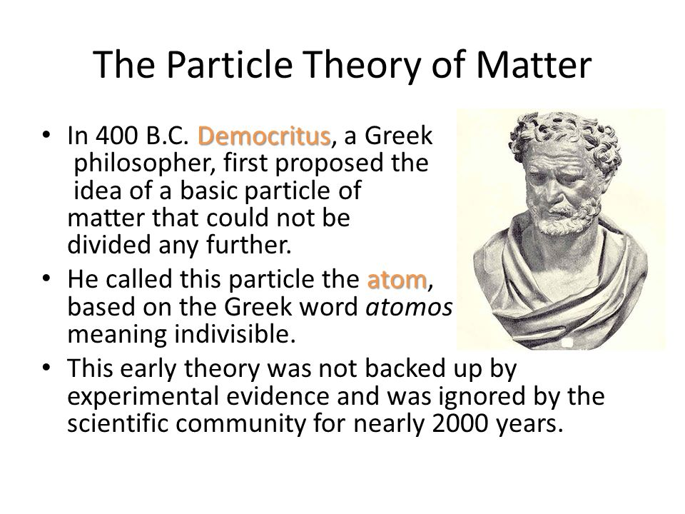 The History of the Atom 1: The Ancient Greeks
