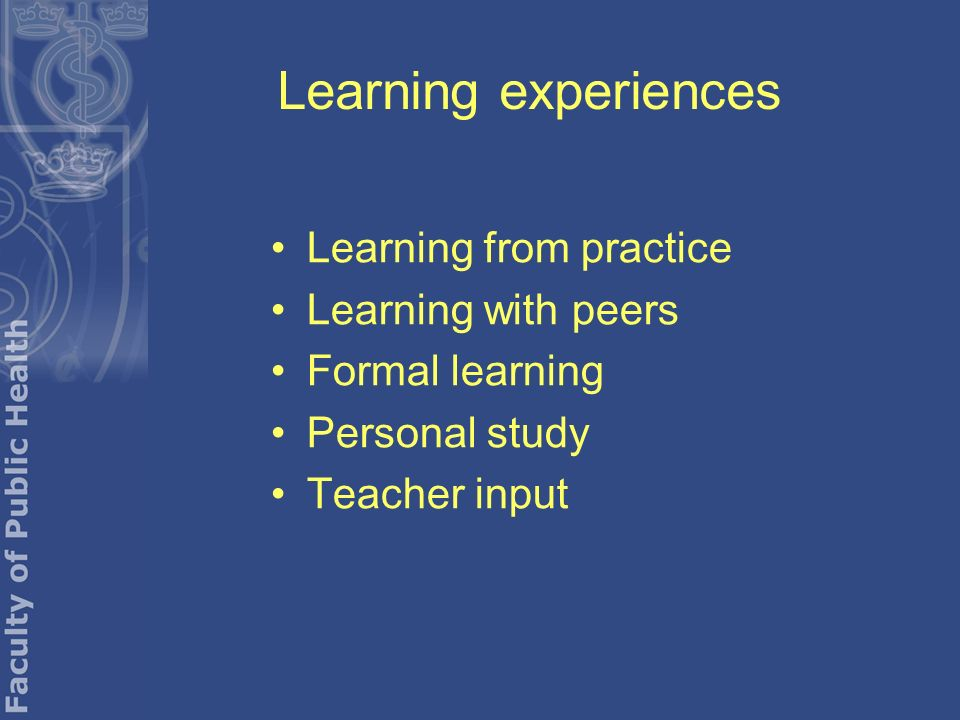 work based learning experience analysis food and An important prerequisite to successful apprenticeships, however, is also an adequate supply of suitable apprentices, which in turn (among other factors) depends on the training quality at the workplace, certification of the acquired skills, and future wages and career opportunities from obtaining a.