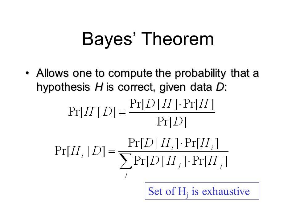 Bayes Theorem Discrete Mathematics And Its Applications