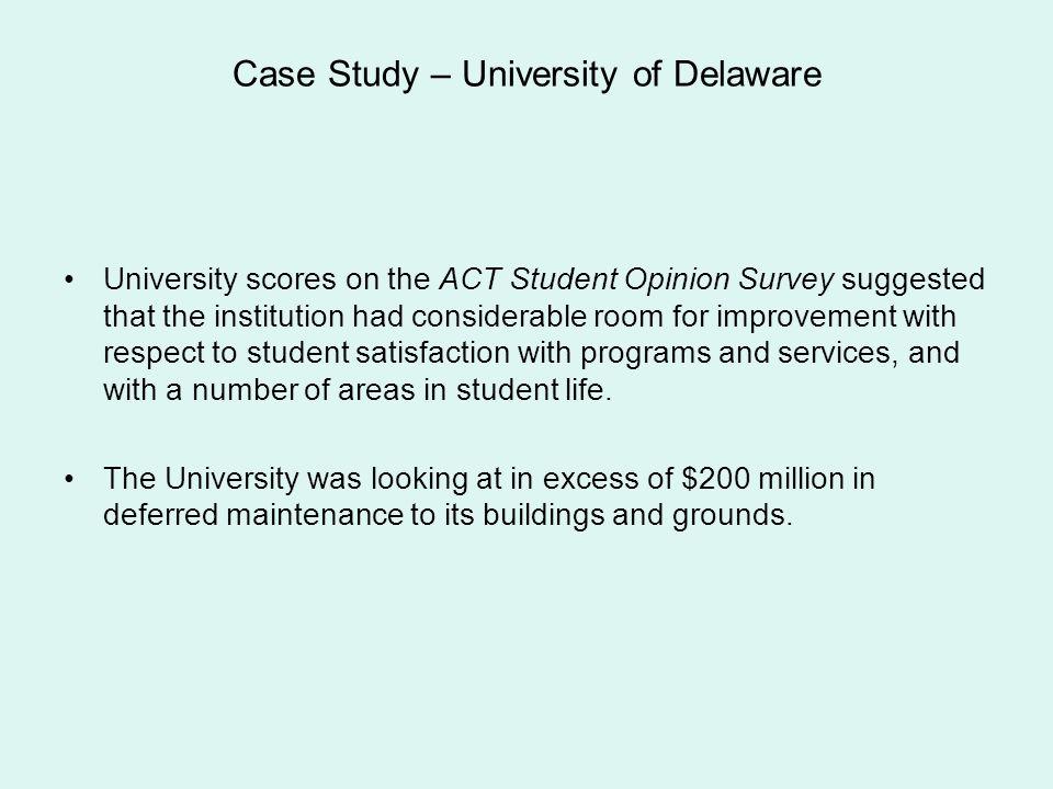Case Study – University of Delaware