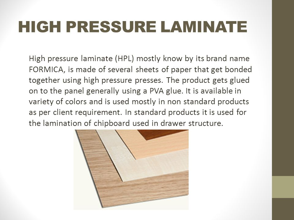 Materials used in interwood mobel ppt video online download for High pressure laminate kitchen cabinets