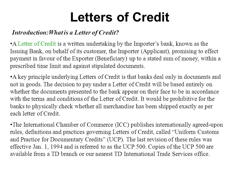 revocable and irrevocable letter of credit pdf