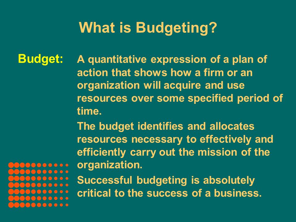 the purpose of cash budgets The main purpose of cash budget is to give business owners anoverview of the cash flow within a  the purposeof these budgets is help increase the.