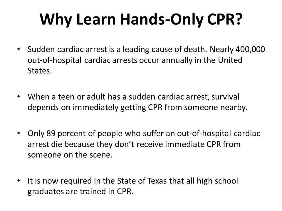 5 Reasons Why Everyone Should Know CPR - HeartCert CPR ...