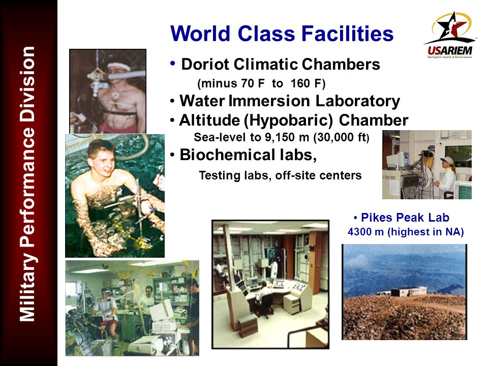 World Class Facilities