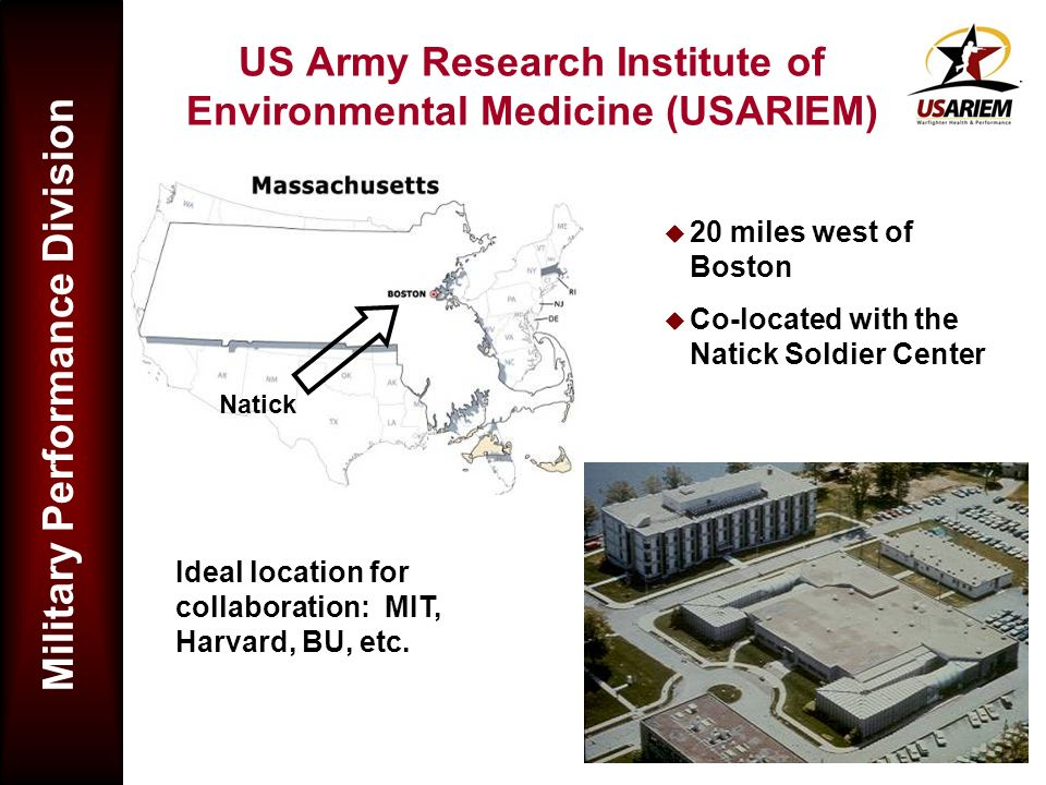 US Army Research Institute of Environmental Medicine (USARIEM)