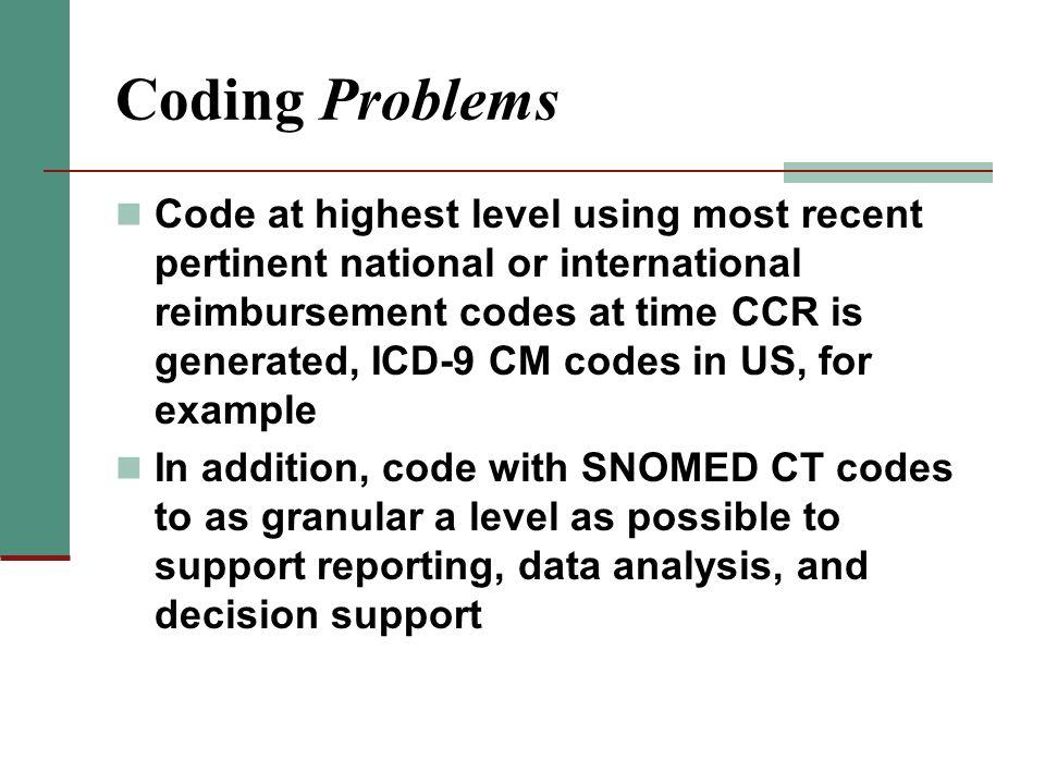 Coding Problems