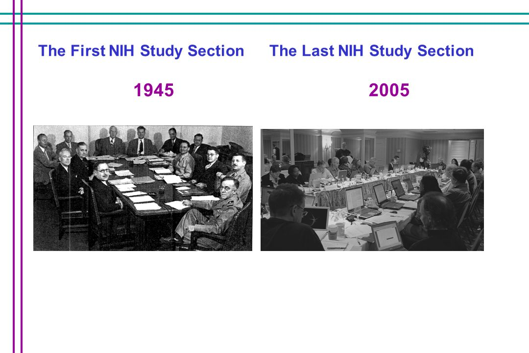 The First NIH Study Section 1945