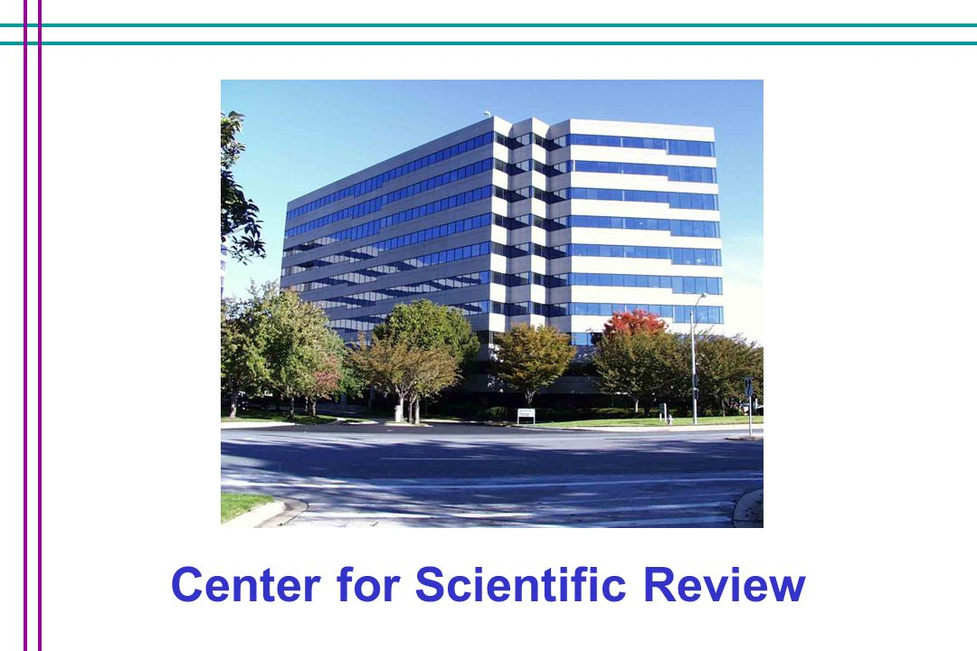 Center for Scientific Review