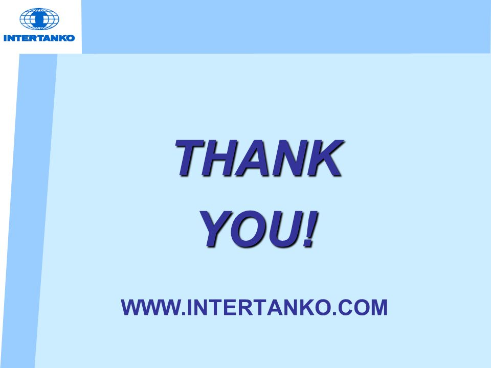 THANK YOU! WWW.INTERTANKO.COM