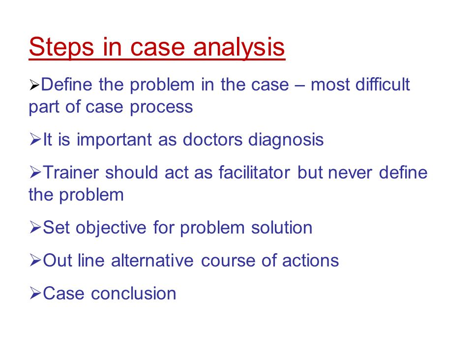 case analysis with alternative courses of action Definition of course of action: plan or method to be used for achieving a specific goal gap analysis marketing strategy scope of work.