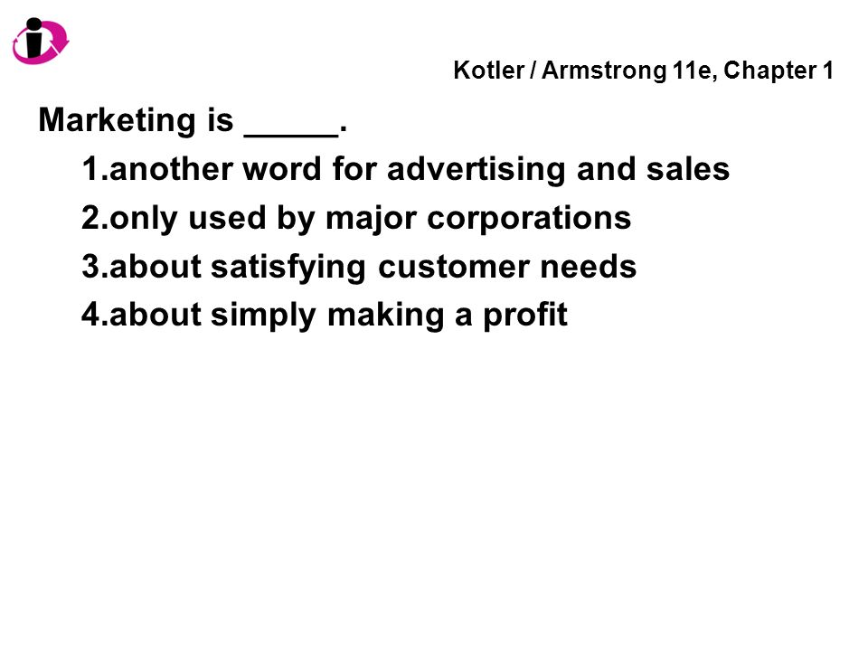 marketing 11e armstrong kotler company case 6 Quizlet provides marketing an introduction armstrong an introduction armstrong and kotler an introduction by gary armstrong - chapter 2: company and.