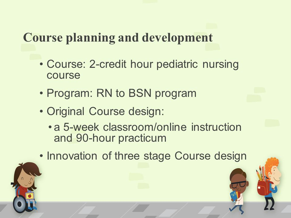 rn to bsn coursework The online rn to bsn program maintains flexibility while ensuring that coursework meets the needs of passionate and professional nurses this flexible program is based on the unique needs of the adult learner and consists of nine courses or 31 credits focused on nursing.