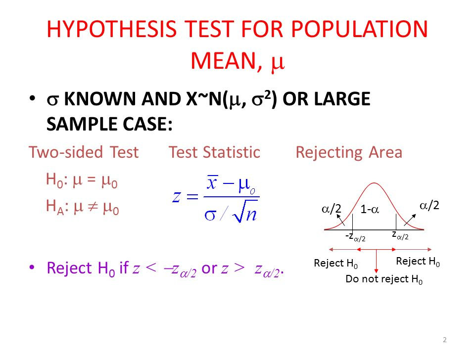 statistical hypothesis testing and two sided test Hypothesis testing: two means, paired data, two proportions  for the hypothesis test, we calculate the estimated standard deviation, or standard error, .