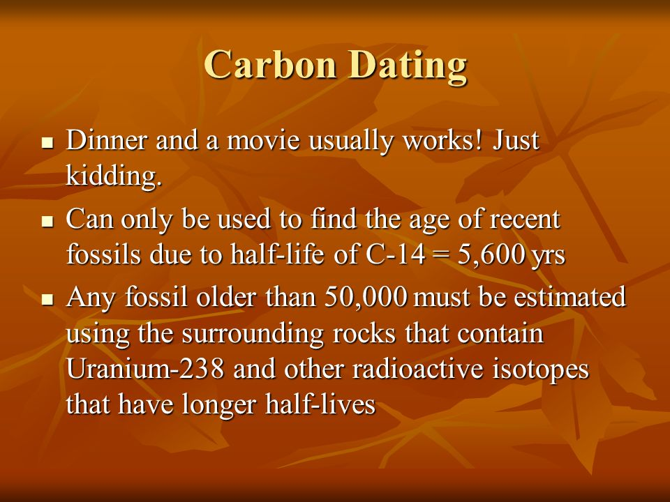 how is carbon dating measured