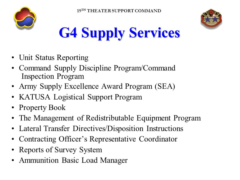 Service Supply Transfer : Th tsc newcomer s orientation brief ppt download
