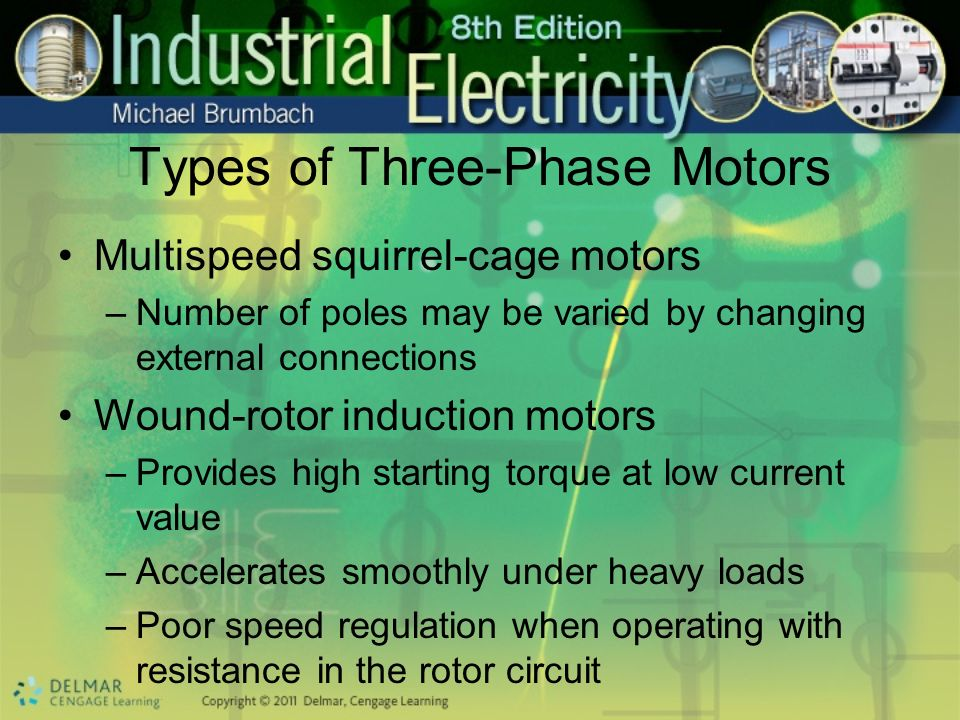 Types of Three-Phase Motors