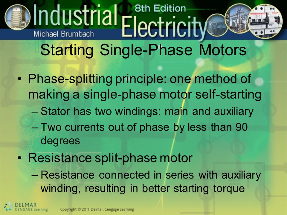 Starting Single-Phase Motors