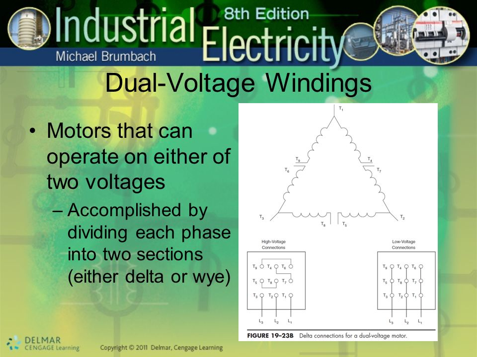 Dual-Voltage Windings