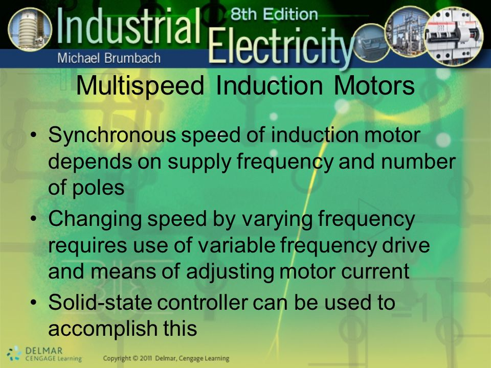 Multispeed Induction Motors