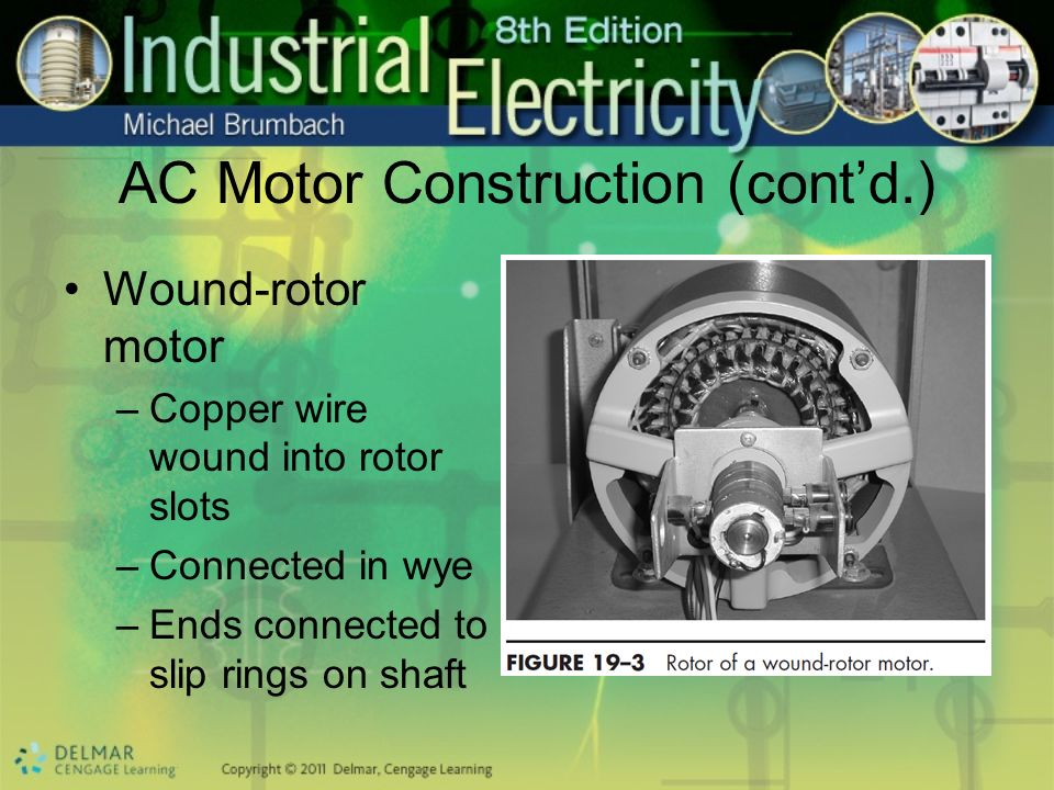 AC Motor Construction (cont'd.)