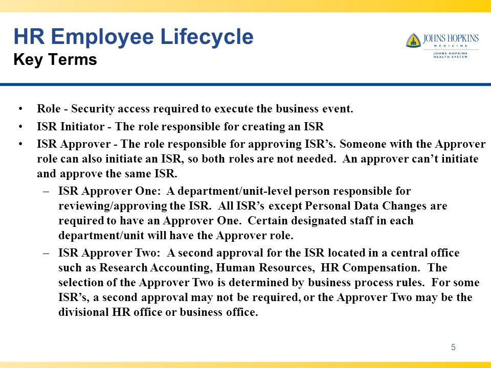 HR Employee Lifecycle Key Terms