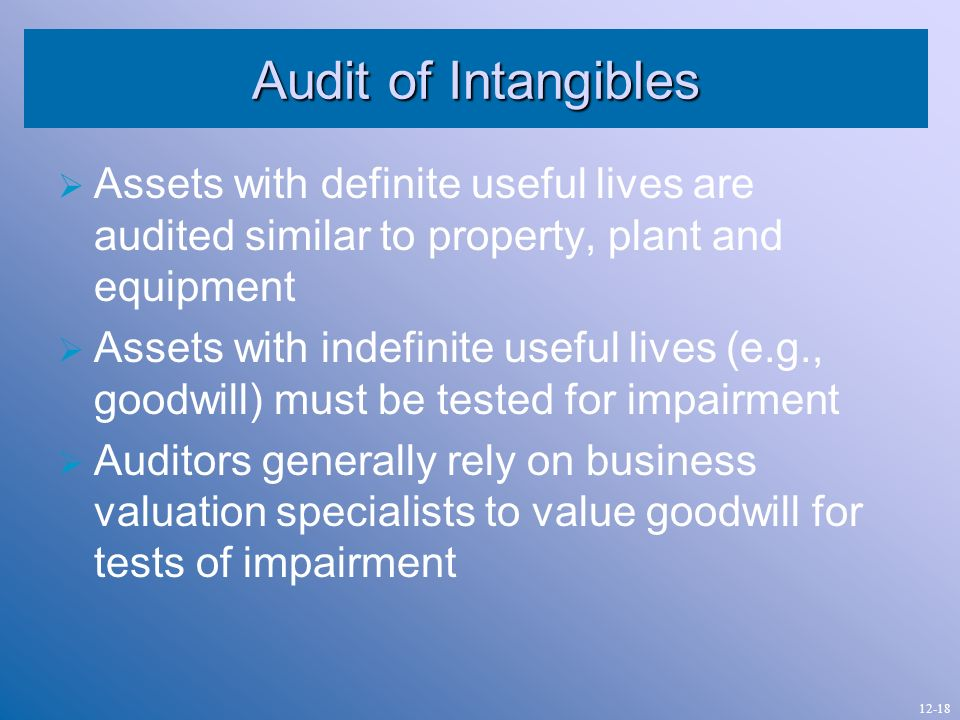 audit of property plant and equipment Property, plant and equipment (pp&e) form the core of many companies' balance sheets pwc's pp&e valuation specialists help companies deal with valuation and tangible asset management issues for real property and personal property.