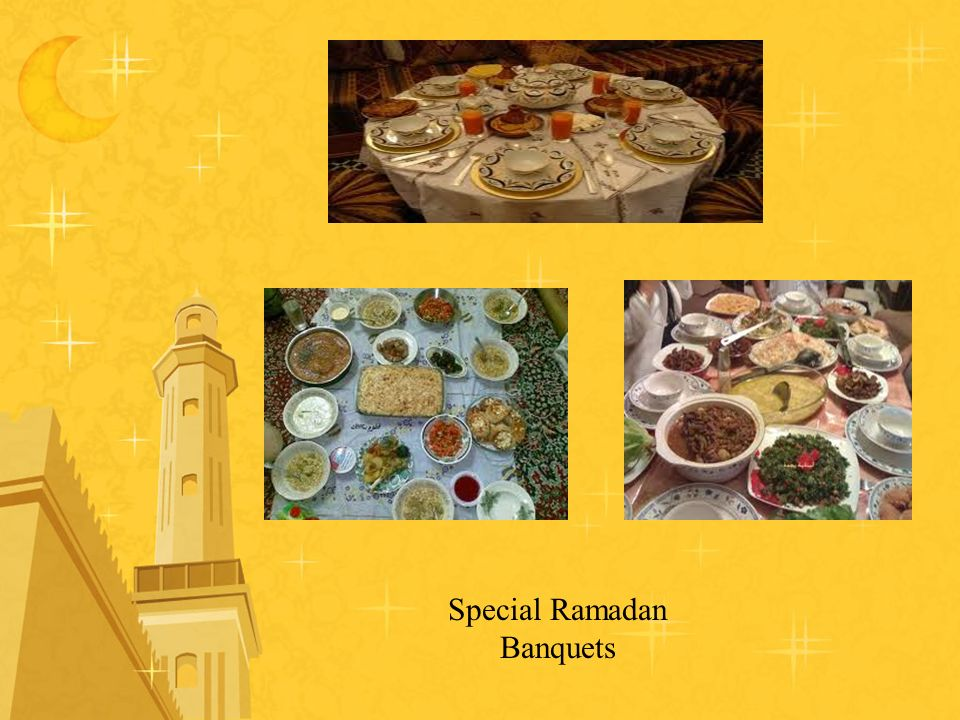 Special Ramadan Banquets