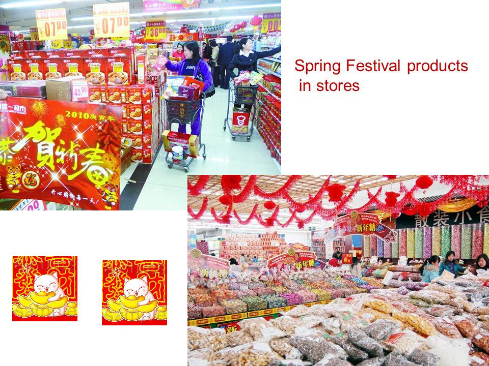 Spring Festival products