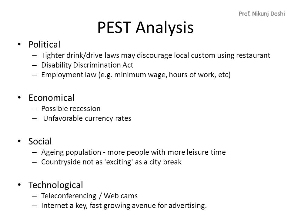 pest analysis in russia During the course of your country, company and industry research and analysis, you may want to find reports based on particular strategic analysis tools.