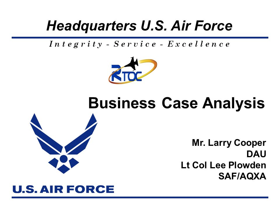 Business Case Analysis ppt download – Business Case Analysis