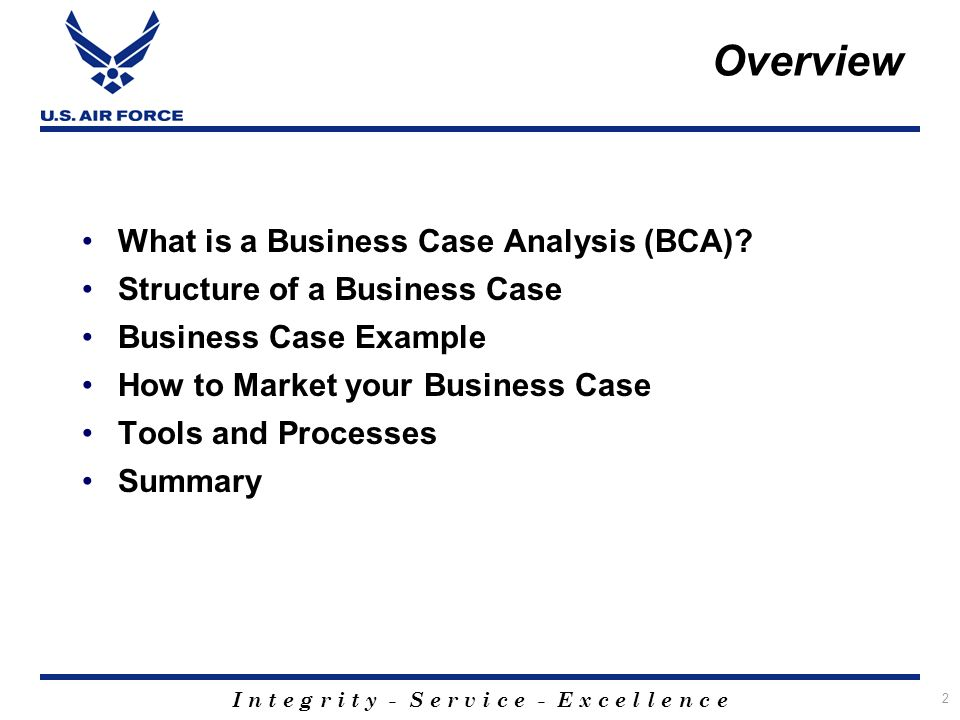Business Case Analysis - Ppt Download